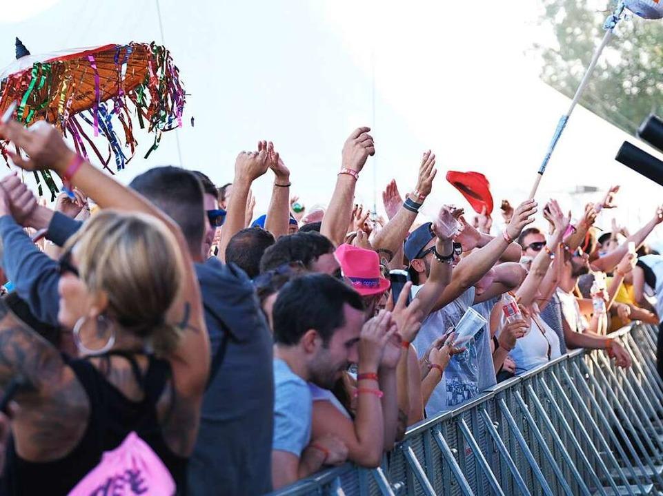 Partystimmung beim Sea-You-Festival.  | Foto: Miroslav Dakov