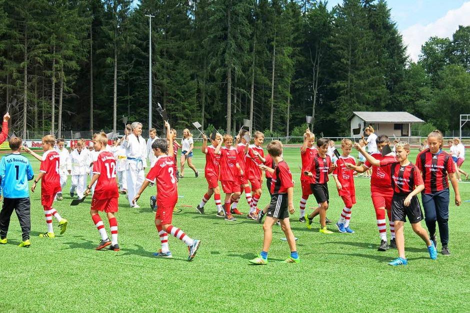 Stadioneinweihung TuS Bonndorf. (Foto: Erhard Morath)