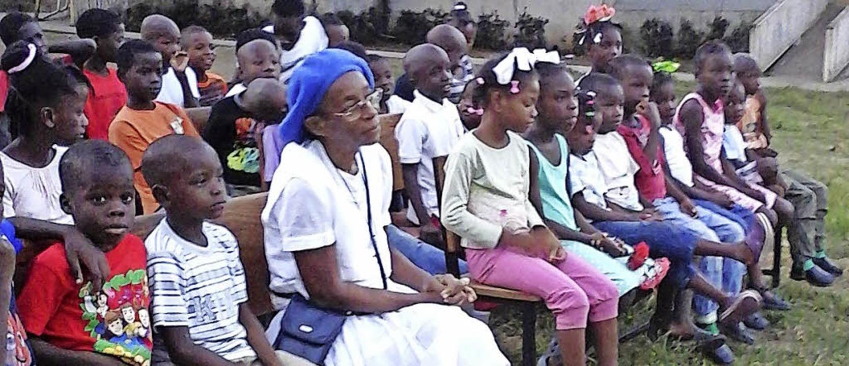 Grundschüler sammeln für Haiti Hilfe Endingen Badische