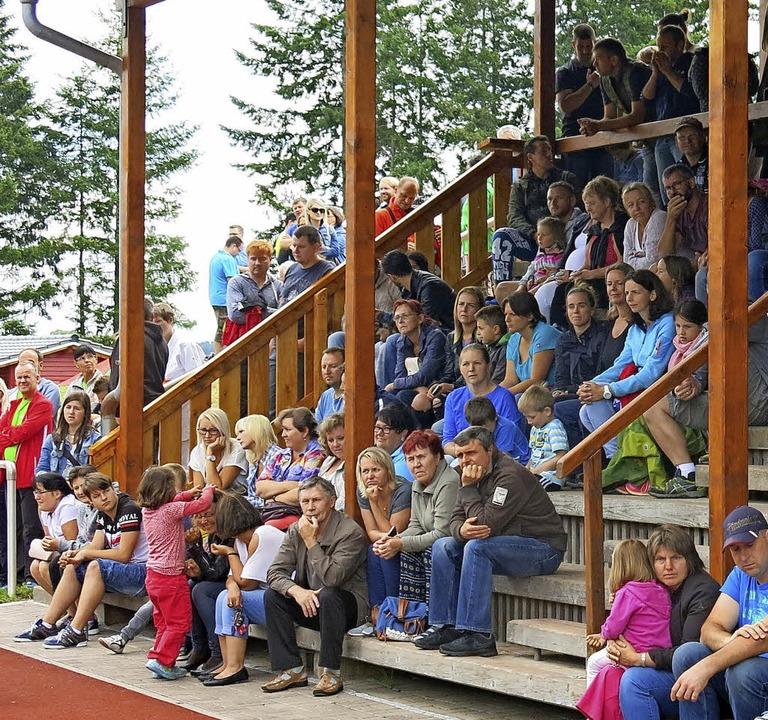 Viele Gäste feierten am Wochende mit dem TuS.  | Foto: Erhard Morath