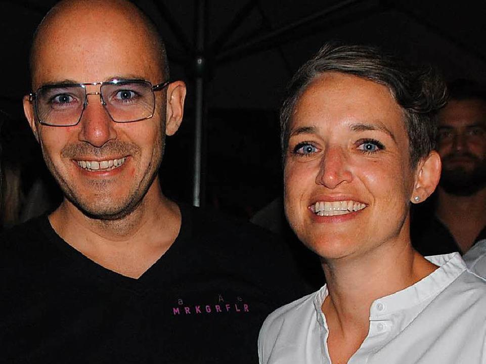 Hagen und Nicole Rüdlin    Foto: Norbert Sedlak