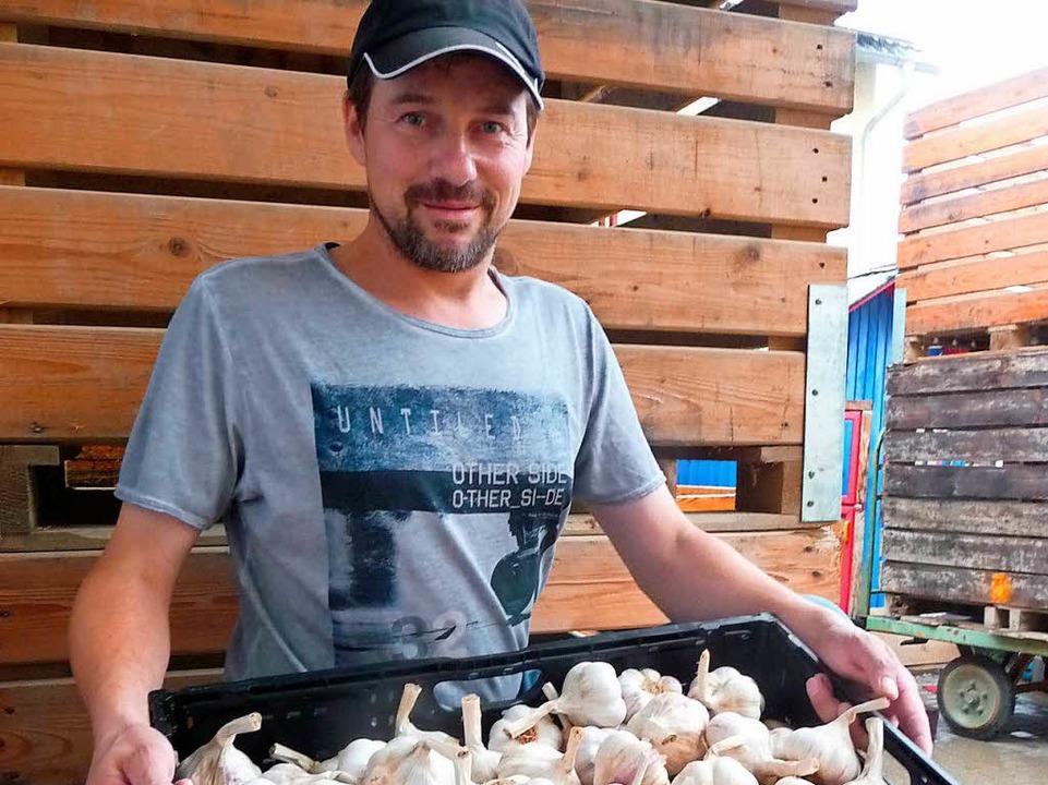 Landwirt Michael Fehr aus Forchheim  | Foto: Katja Russhardt