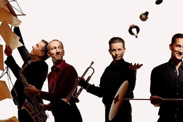 Jazzfest mit 14 Band an zwei Tagen auf vier Bühen in der Altstadt von Tiengen