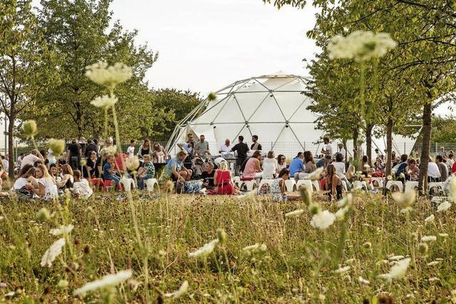 Zwei Vitra Campus Summer Nights in Weil am Rhein