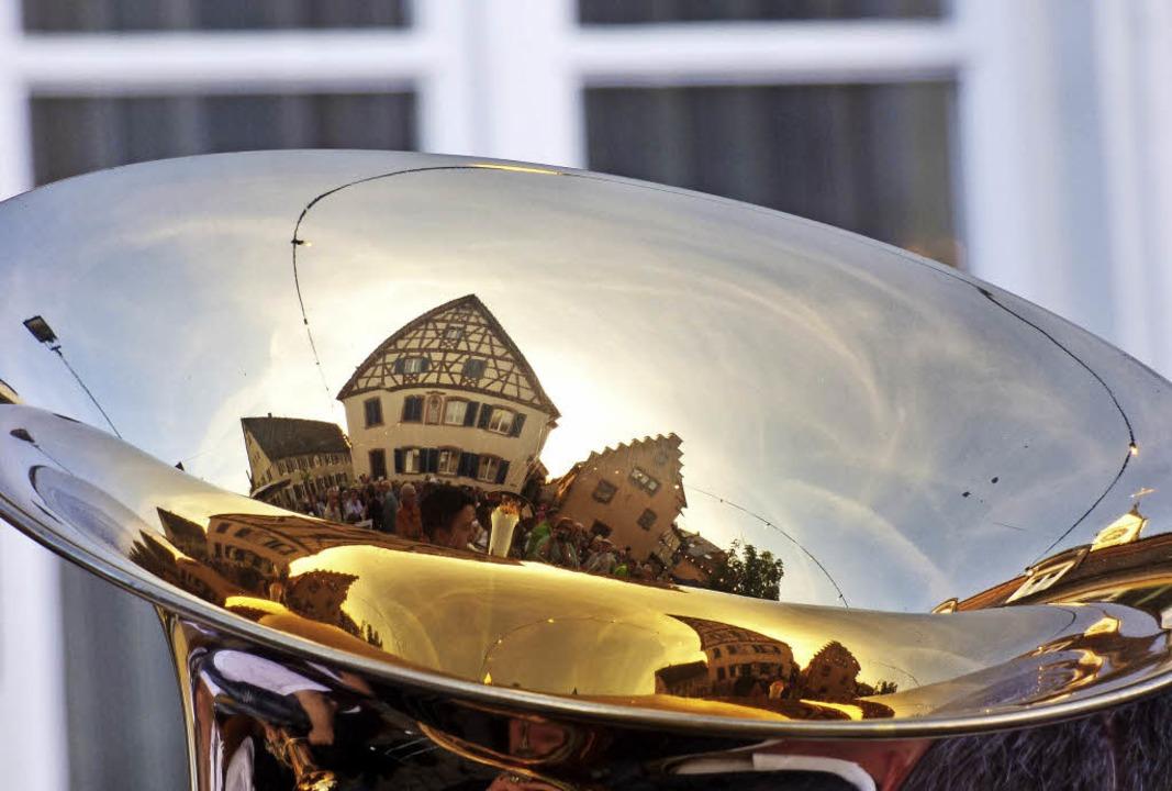 Rathauskonzert Teningen  | Foto: Brigitte Rüssel