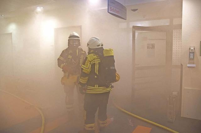 Was passiert, wenn in der Müllheimer Helios Klinik ein Brand ausbricht?