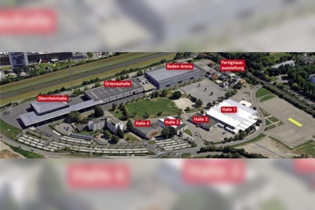 Neue Messehalle soll bis 2020 stehen