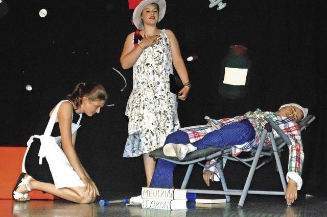 Theater-AG brilliert mit Molière