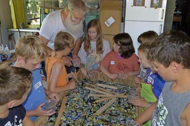 Programm für Kinder im Sommer