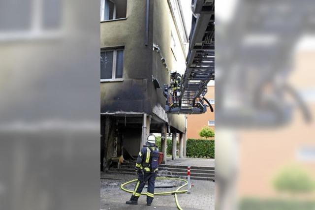 Vier Brände: Lörracher Polizei geht von Vorsatz aus