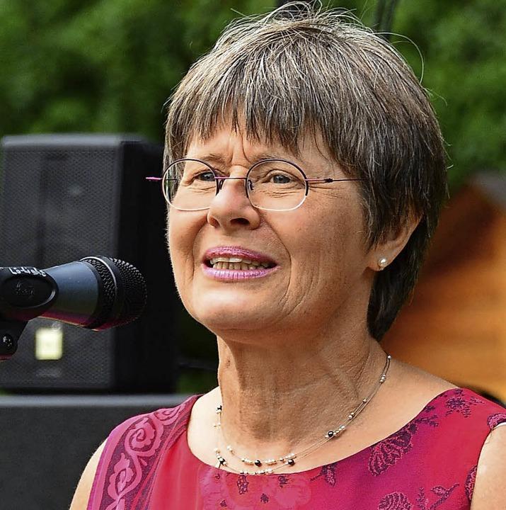 Beatrice Kaltenbach-Holzmann vom Stift...er die Arbeit der Kaltenbach-Stiftung.  | Foto: Annette Mahro