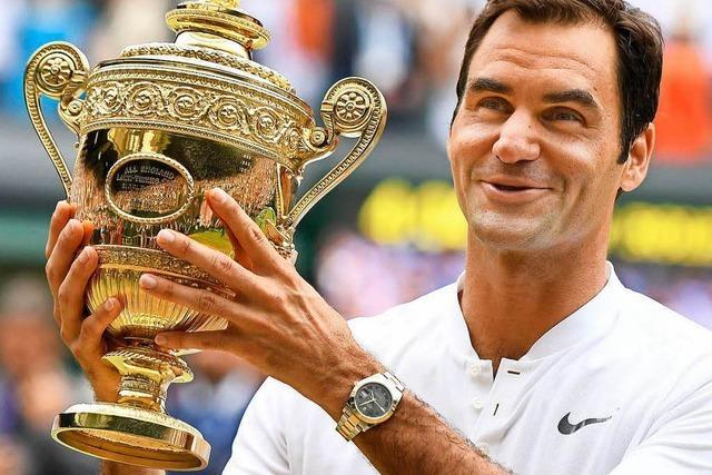 Federer ist nun ein Teil der britischen Sportgeschichte