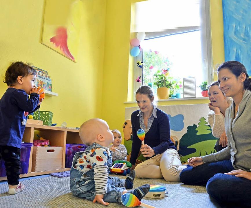 Andere Mütter treffen und nebenbei mit...milienzentrum in Rheinfelden geht auf.  | Foto: Verena Pichler
