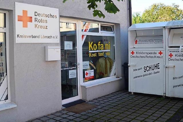 DRK-Kleiderladen in Weil am Rhein schließt zum 30. August