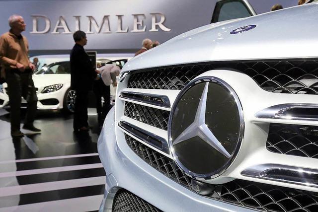 Daimler will drei Millionen Autos nachrüsten