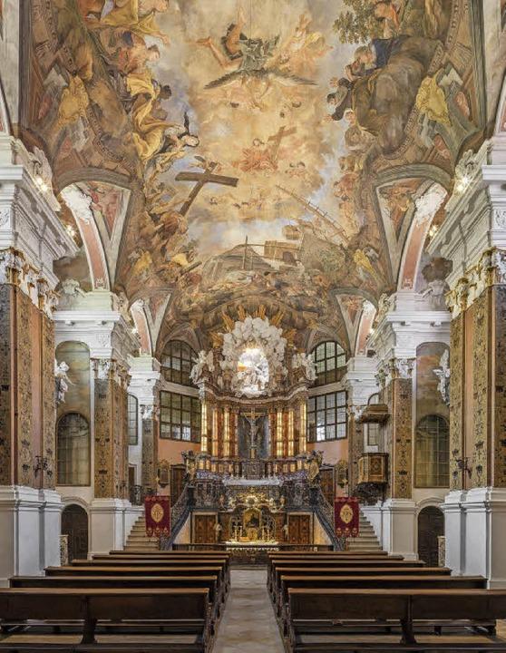 Die Schlosskirche in Rastatt  | Foto: Staatliche Schlösser und Gärten Baden-Württemberg, Atelier Dirk Altenkirch