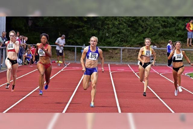 Sprinterinnen in Baden nicht zu schlagen