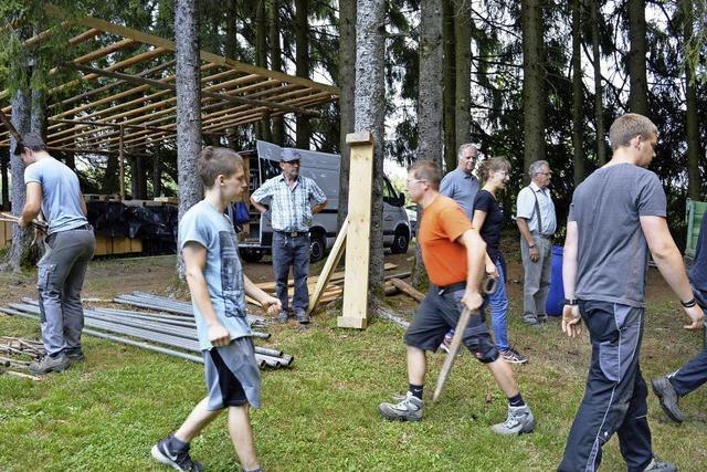 Gauditurnier der Trachtenkapelle im Hogschürer Wald