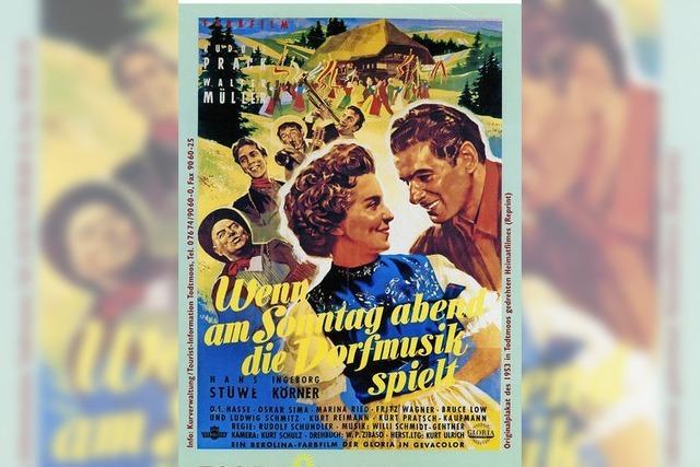 Liebesfilm mit Todtmoosern wird noch einmal gezeigt