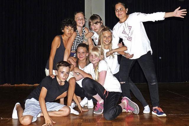 Talente auf der Bühne
