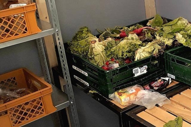 Nollinger Hieber-Markt bietet abgelaufene Waren jetzt kostenlos an