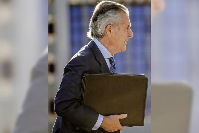Skandalbanker Miguel Blesa stirbt durch einen Schuss in die Brus