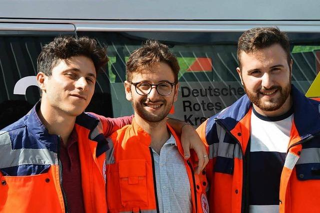 Personalmangel: DRK Rheinfelden holt Retter aus Italien