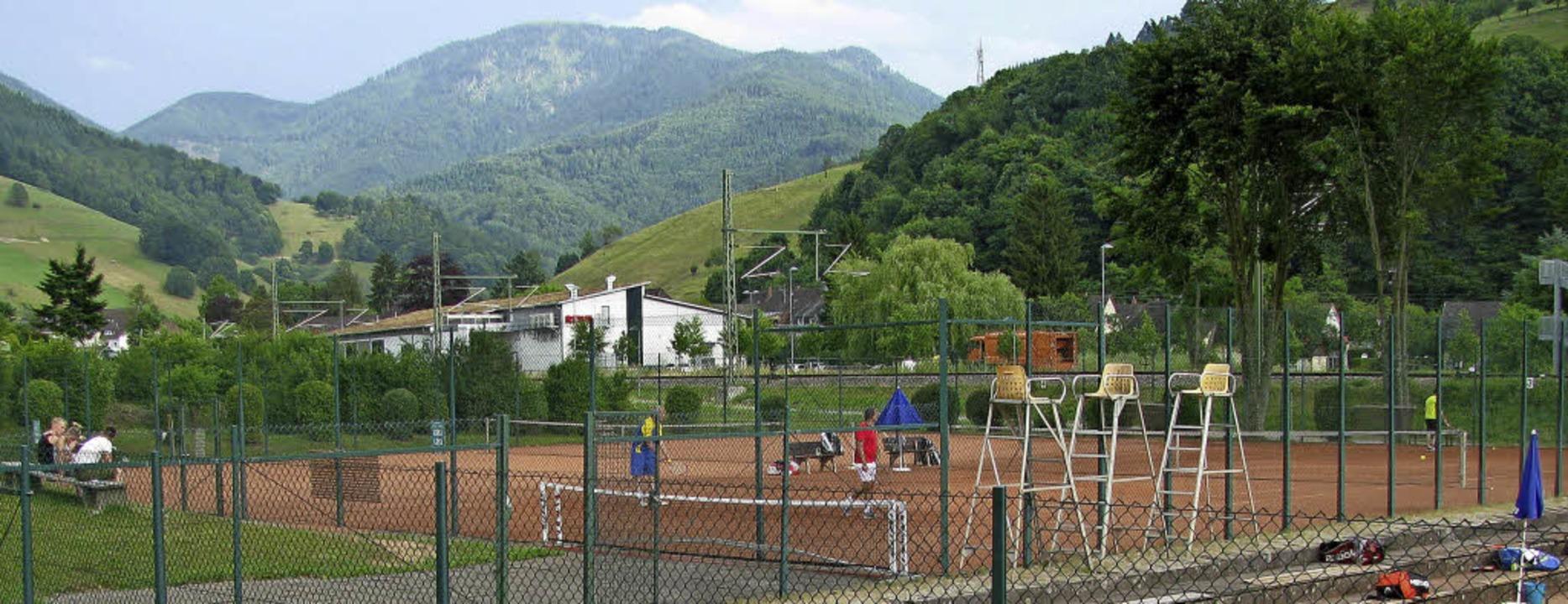 Der Tennisplatz in Münstertal soll noch erweitert werden.   | Foto: Manfred Lange