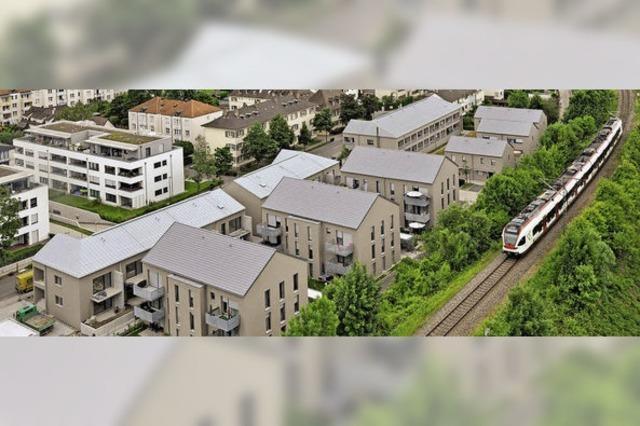 Neues Wohnquartier in Stetten