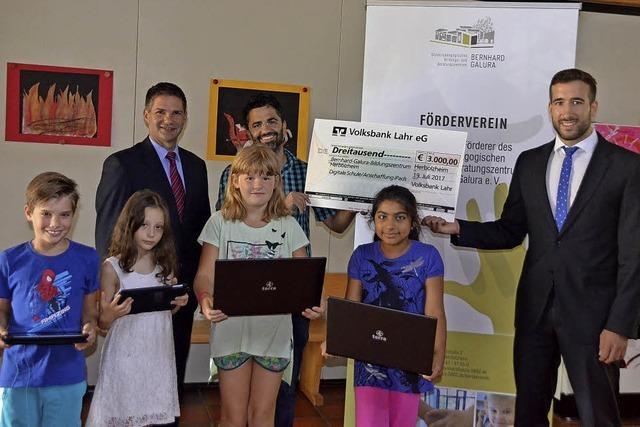 Volksbank fördert Einstieg in die digitale Schule