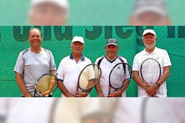 Herren-70-Team ungeschlagener Meister