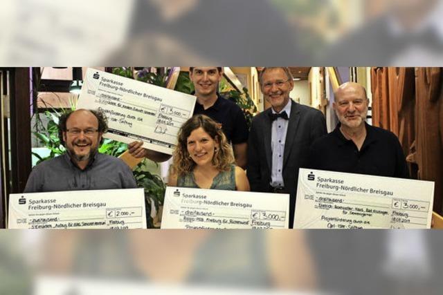 Vier Spenden für die Stadtmission