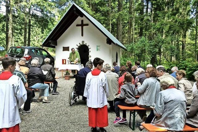 Kapelle ist Maria als Schmerzensmutter geweiht