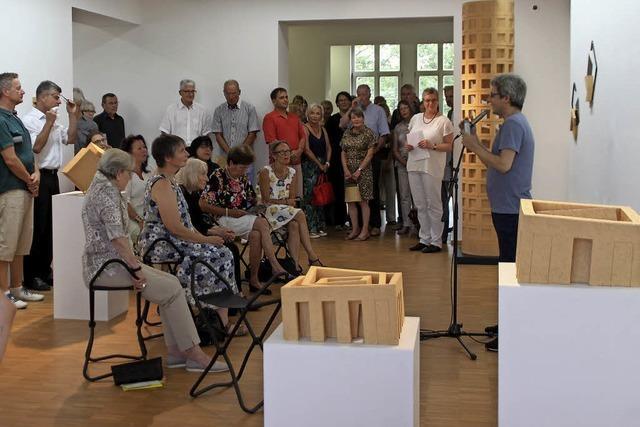 Kunstverein Offenburg zeigt drei spannende Positionen von Skulpturen im Raum