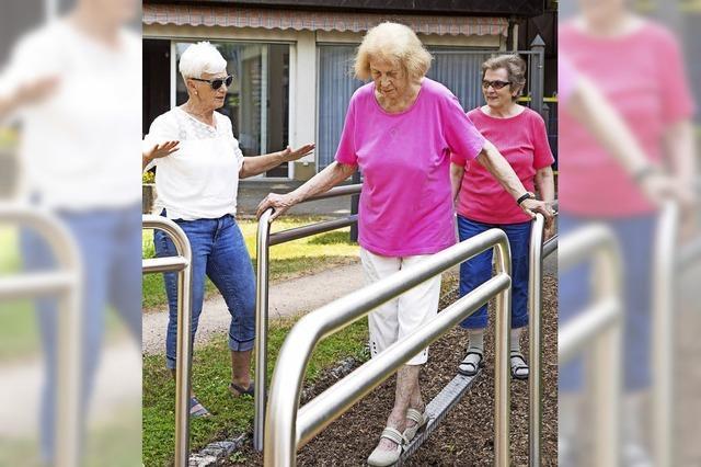 Bewegung ist wichtig bis ins hohe Alter