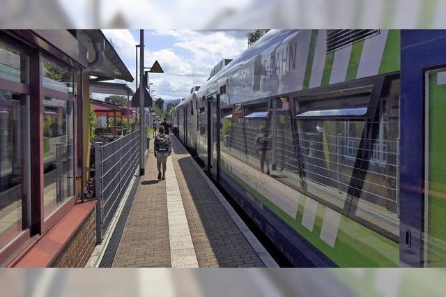 Mit den neuen Zügen kommt auch Lärmschutz
