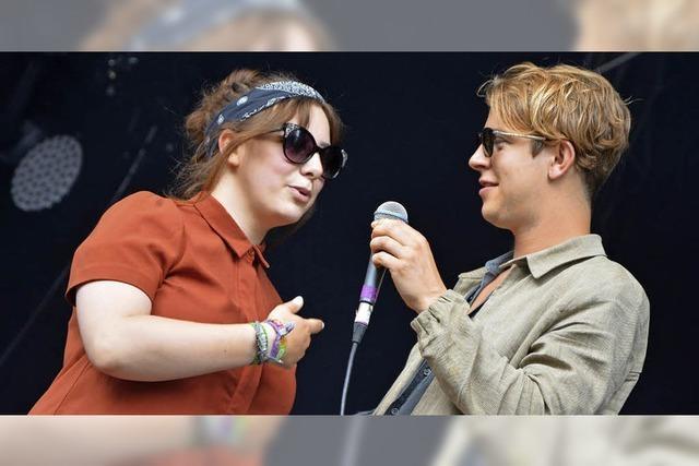 Mit dem Star auf der Bühne