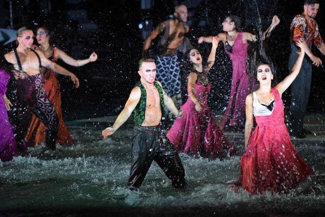 Die Neuinszenierung von Bizets Oper Carmen auf der Seebühne in Bregenz