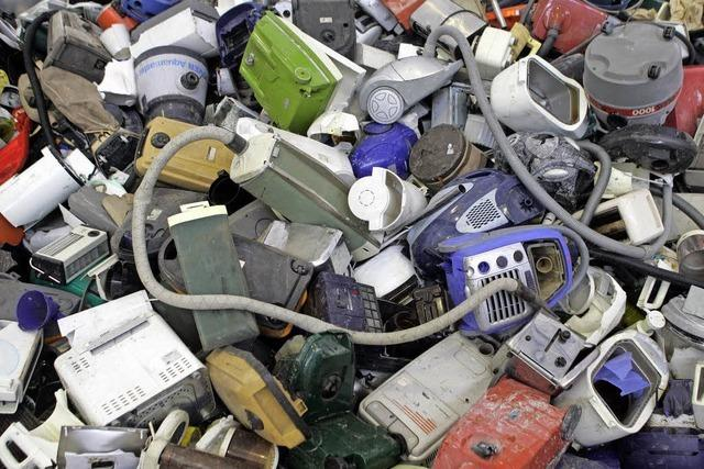 Ärger wegen des Elektroschrotts