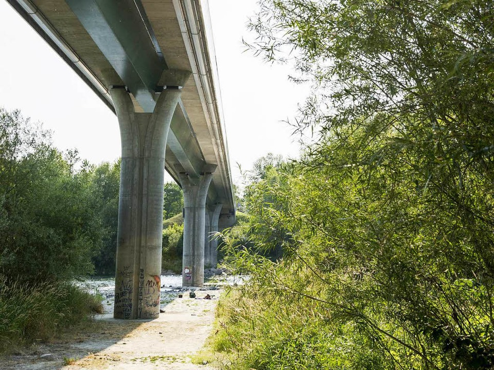 Die Brücke bei Bremgarten war ein Herz... die Verbindungen gestärkt <ppp></ppp>    Foto: Daniel Schonen