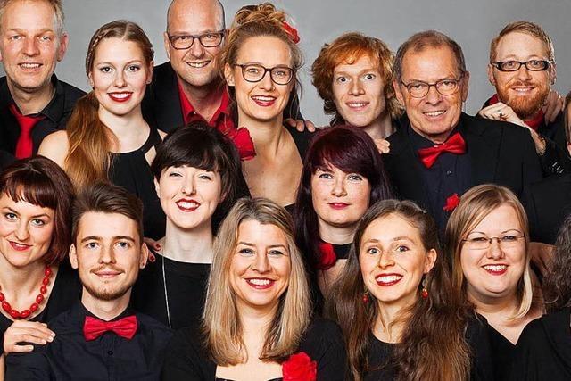 Der Jazzchor Freiburg will Europas Chor des Jahres werden