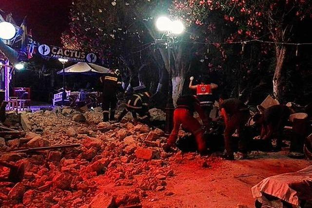 Tote und Verletzte nach Erdbeben in der Ägäis-Region