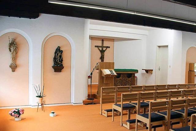 Krankenhauskapelle wird zum Raum für Fußchirurgie