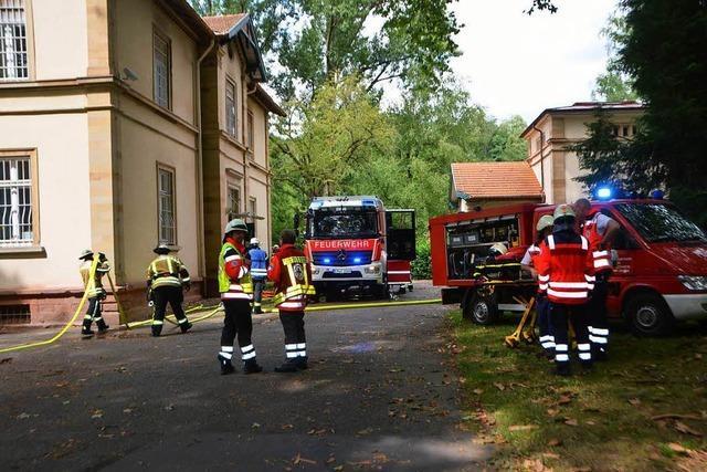 Zimmerbrand im Zentrum für Psychiatrie – keine Verletzten