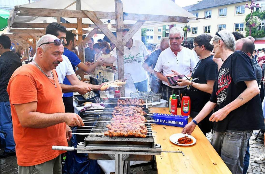 Kulinarisch war einiges geboten.  | Foto: Wolfgang Künstle