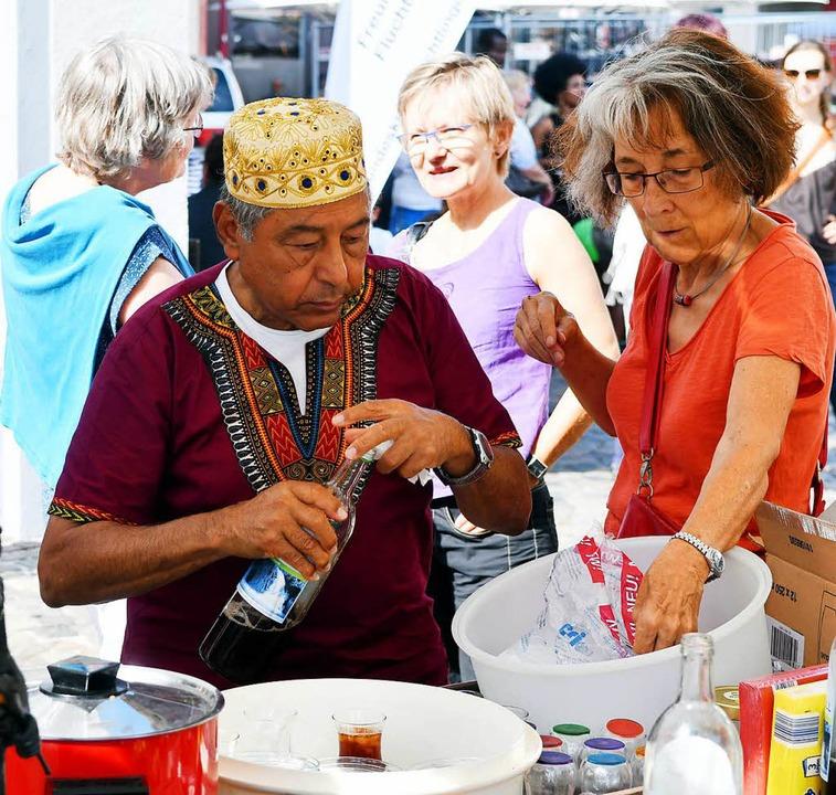 Der Marktplatz wurde zum Treffpunkt unterschiedlicher Kulturen.  | Foto: Wolfgang Künstle
