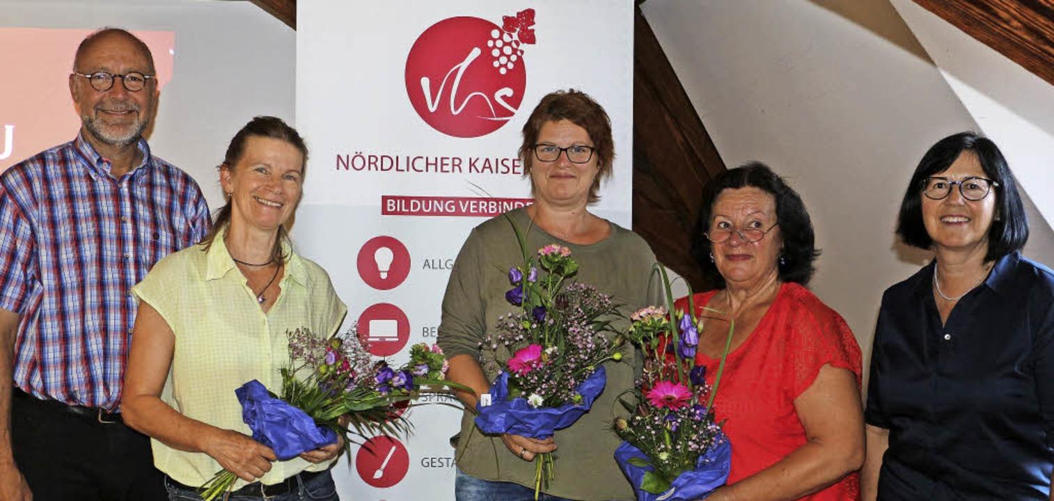 Anerkennung für die geleistete Arbeit ...hrerin Christiane Weinmann-Eichenbaum.    Foto: Ruth Seitz