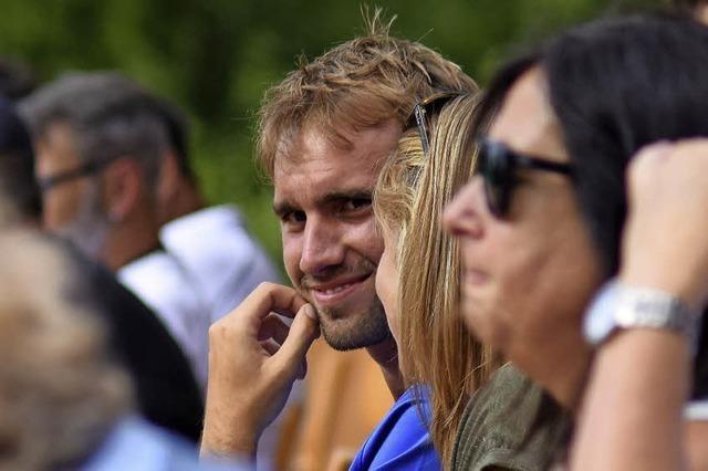 Der Amateur unter den Profis: Philipp Bauer