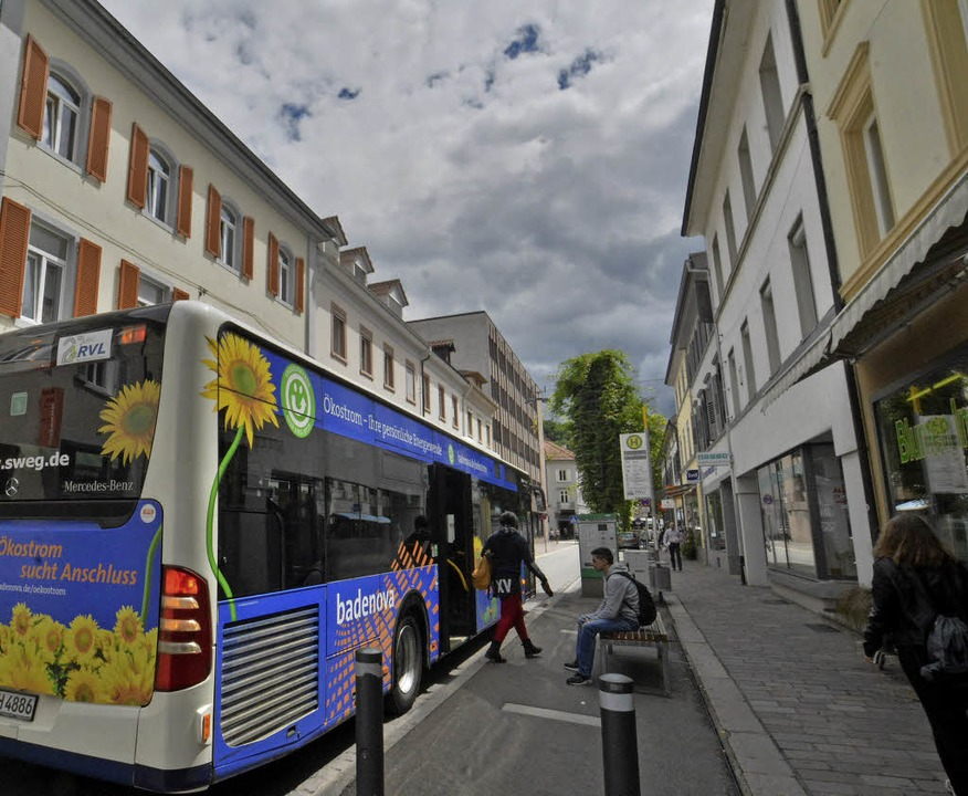 Wenn die Grabenstraße Fußgängerzone wi...einer generellen Revision der Linien.   | Foto: Barbara Ruda