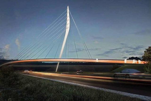 Lahrs Landesgartenschaubrücke soll Ende 2017 fertig sein